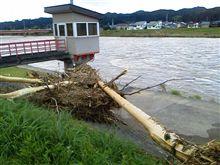 水害翌日…