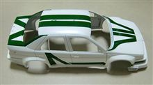 AlfaRomeo 155 V6 TI 塗装中