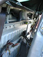 【軽量化】【熱対策】 リアバルクヘッド内装ストリップ~ECU確認