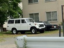 近所で見かけた珍しい車
