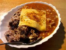 赤飯カレー