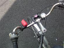 たまには自転車で...(トーラスに遭遇)