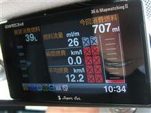 ユピテル GWR53SD の燃費計の実力は意外と平凡すぎ
