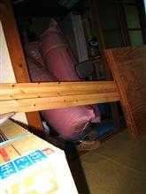 工期の遅れ【部材であふれる】隠れ家