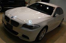 【ラディアス上尾】BMW5シリーズのガラスコーティング