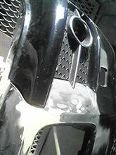 中古バンパーの修復