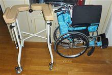 85歳の母が退院、送迎に使った車いすがフィットシャトルにフィットした