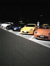 夕べは壬生PAでナイトミーティング