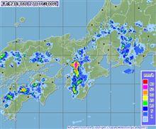 昨日のゲリラ豪雨で自然災害の備えを思う