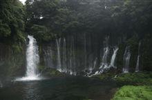白糸の滝:富士周遊