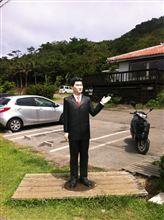 石垣島トムルの紳助人形