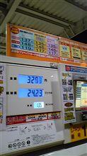 ガソリン↓↓↑→↓
