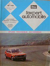 L'expert Automobile N° 112 : Alfa-Roméo Alfasud Alfasud Ti