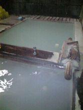 今宵は那須温泉の秘湯で