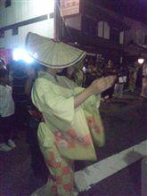 越中おわら風の盆前夜祭
