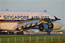 A380の着陸