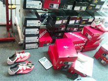 靴を買いに行った