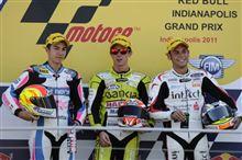 GP125 インディアナポリスGP インディアナポリスレースウェイ 決勝結果