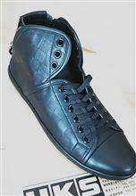 ダミエ革靴