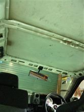 天井はどこも同じ…