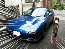 FDさんも洗車だー!!