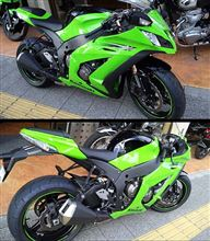 ZX-10Rを試乗しました!(゜▽゜)