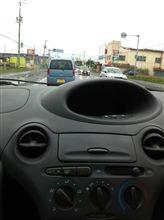 Vitzでドライブ