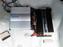 チェンジャーの修理とシステムグレードアップ。