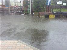 ゲリラ豪雨なみの雨