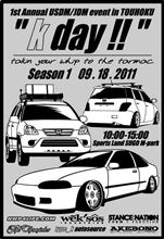 """ K day !! "" USDM/JDM Car Meet"