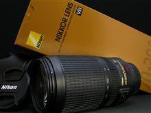 NIKON AF-S VR Zoom-Nikkor 70-300mm f/4.5-5.6G IF-ED 購入