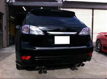 RX450h ブラック化