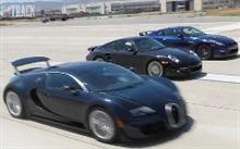 日産 GT-R、・ポルシェ 997 ターボS・ブガッティ ヴェイロンSS のタイムを測っちゃう♪^^