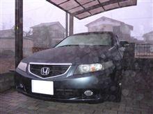 早朝洗車・・・無理です。(+_+)