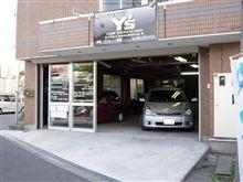 ガラス系3層コーティング済み BMW Z3 洗車にご来店です