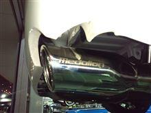 ハイエースⅢ型排気系チューン。