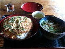 「カツ丼(ミニうどん付き)」☆*:.。. o(≧▽≦)o .。.:*☆
