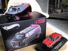 特攻野郎Aチームのバン&R30スカイラインセダン納車