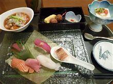 長月最後の東京出張 #2 寿しレストランでランチ