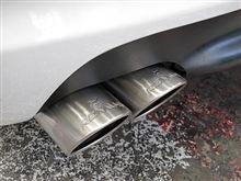 BMW E46 318i Mスポーツ REMUSマフラー取り付け
