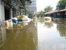 タイが洪水して