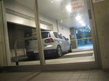 今日はP2駐車場に・・・。