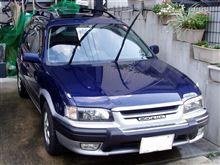 久しぶりに「洗車」しました。