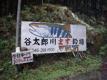 谷太郎川ます釣場に行ってきた!