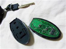 ノート インテリジェントキー 電池交換