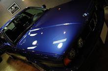 【ラディアス川崎】BMWアルピナ・B10-BiTURBOのガラスコーティング