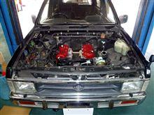 テラノのエンジンスワップ!