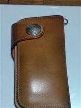 財布も年季が入ってきました。