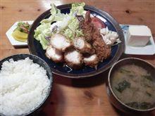 ひげかつのミックスフライ定食