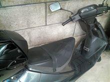 'アドレス' 雨空洗車
